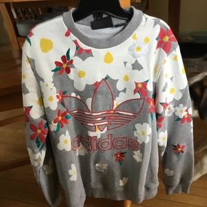 Adidas Pharell Williams Floral  Sweatshirt
